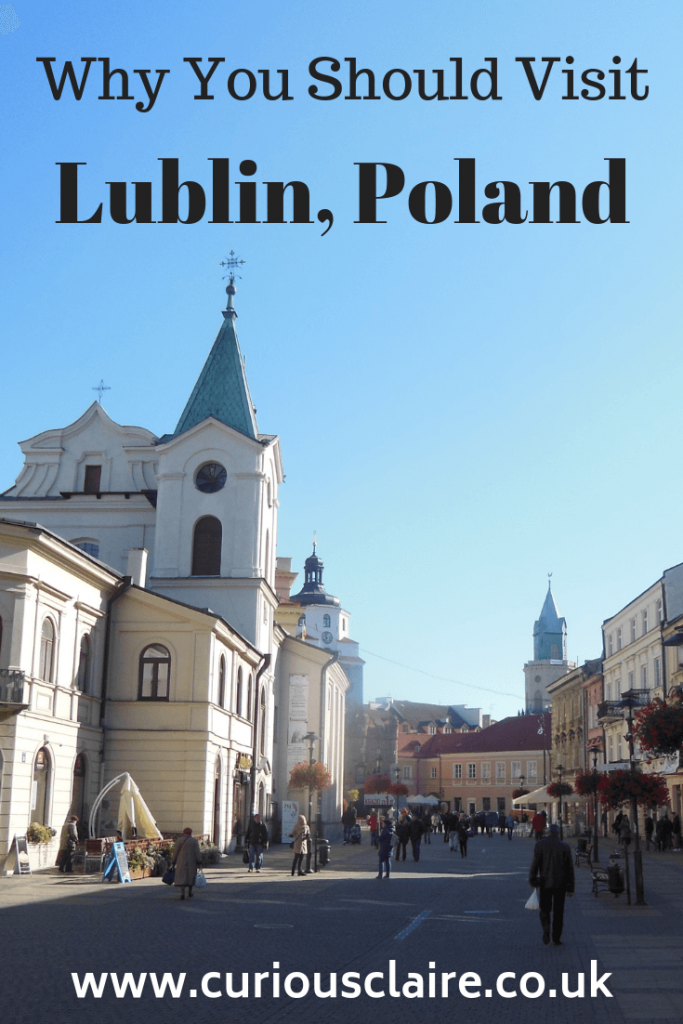 Looking for somewhere different to visit in Poland? Here's why you should visit Lublin #travel #poland #europe #lublin #europetravel