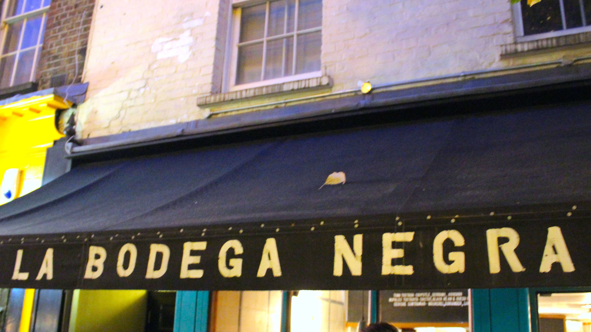 La Bodega Negra - A Mexican delight during the Eating Europe Soho Twilight Food Tour - London, UK