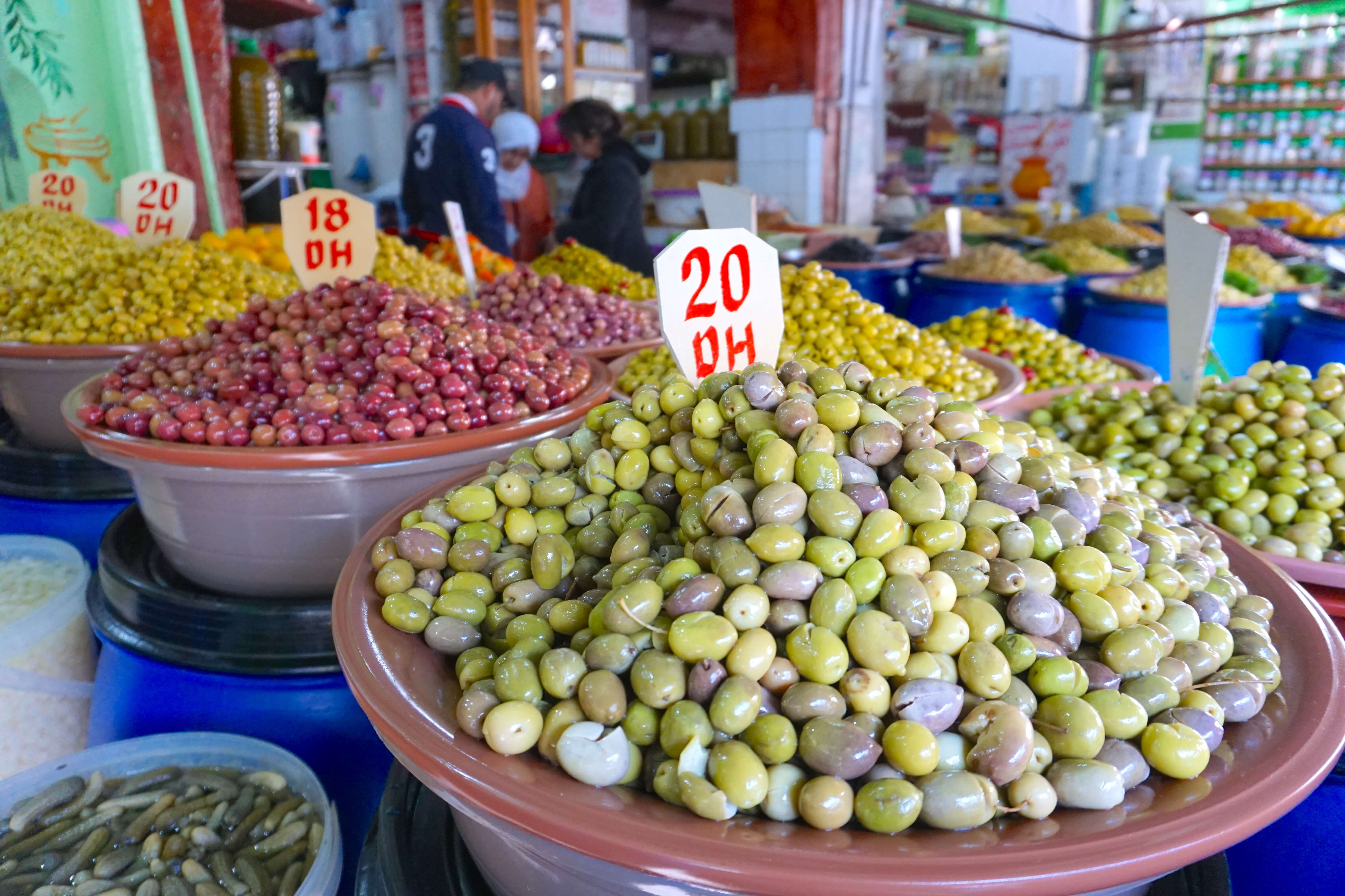 Olives - Morocco Food Guide: Delicious foods you need to try while visiting Morocco