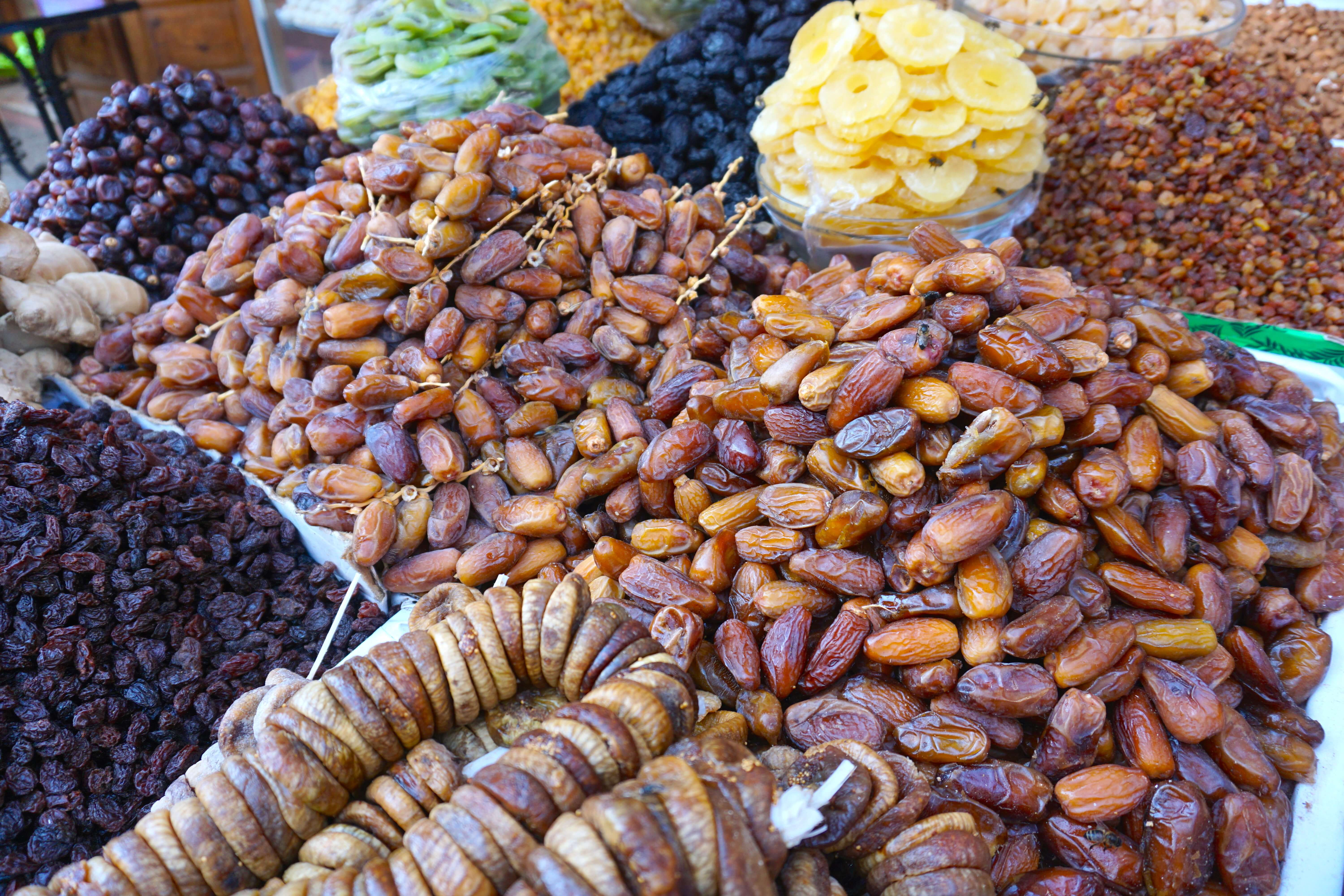 Dates - Morocco Food Guide: Delicious foods you need to try while visiting Morocco
