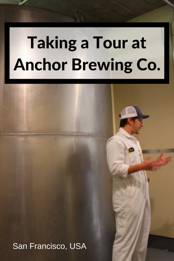Beer lovers visiting San Francisco will love the Anchor Brewing Company Tour... Spoiler alert, it ends with a beer tasting!