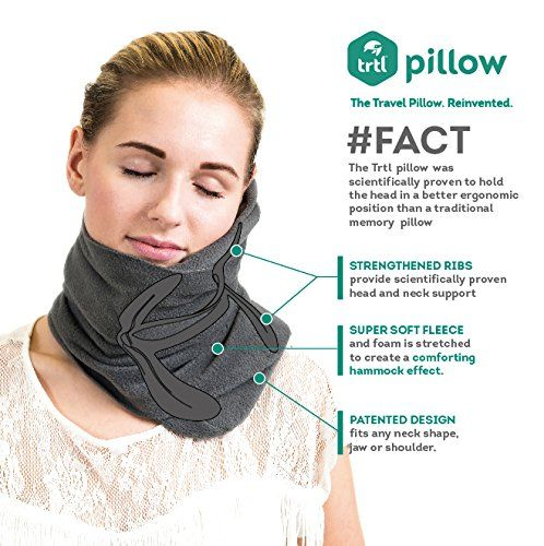 Trtl Travel Pillow Plus | Flight Pillow