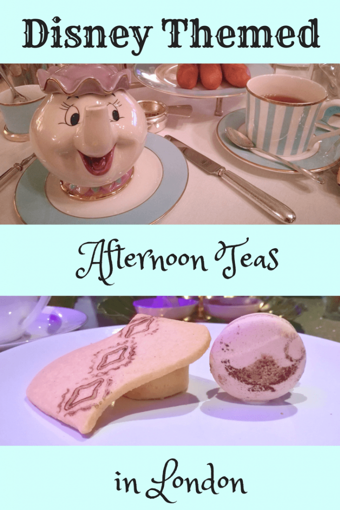 Check out some of the most amazing Disney themed afternoon teas available in London, UK