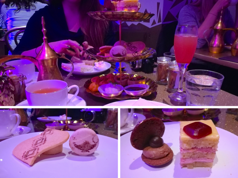 Genie's Cave Afternoon Tea - Do you love Disney and afternoon teas? Check out these awesome Disney themed afternoon teas in London