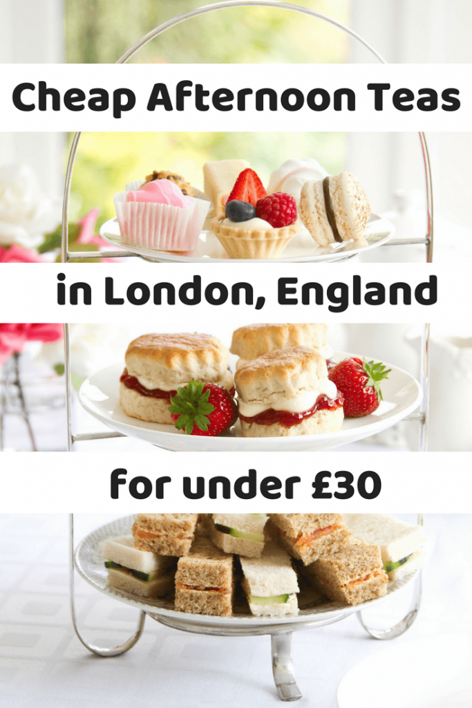 Looking for a traditional afternoon tea without the high price tag? Here are the cheapest afternoon teas in London, all for under £30