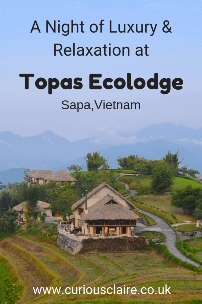 Looking for some luxury while in Sapa? aHere's why you'll love a relaxing stay at Topas Ecolodge - Sapa, Vietnam