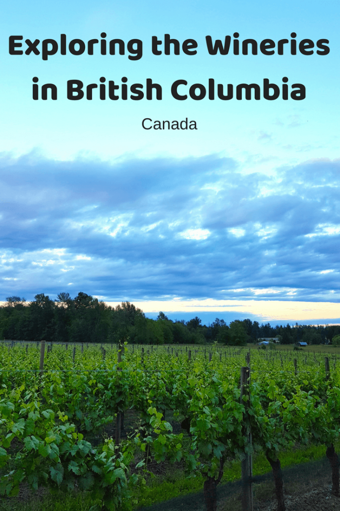 Did you know British Columbia is home to many amazing wineries - here's a few I tried one while staying in B.C - Canada