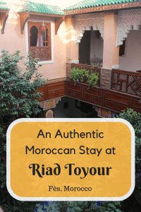 Visiting Morocco? Here's why you should have the authentic Moroccan experience at Riad Toyour - Fes, Morocco