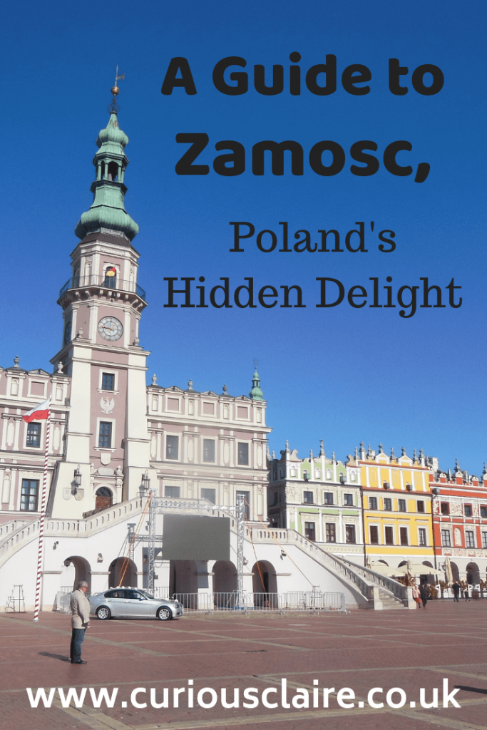 A guide to the UNESCO town of Zamosc, a hidden gem in Southeastern Poland. How to get there, what to see and where to stay.