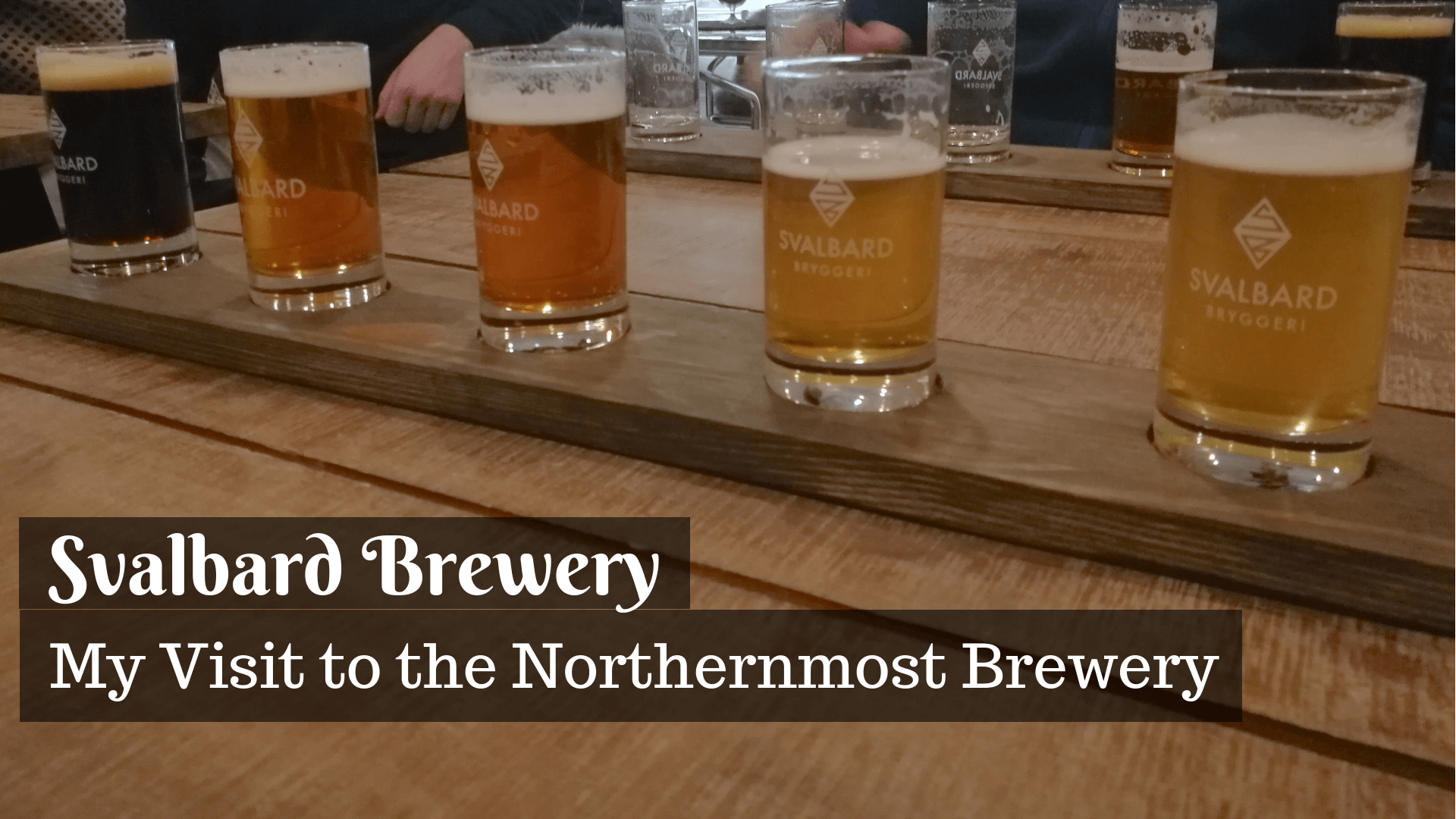 Did you know the world's northernmost brewery is in Svalbard? The beer tour at Svalbard Brewery should be on every beer lovers bucket list!