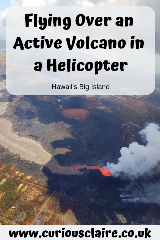 Taking an unforgettable helicopter tour around an active volcano on Hawai's Big Island with Blue Hawaiian Helicopters - Hawaii's Big Island, USA