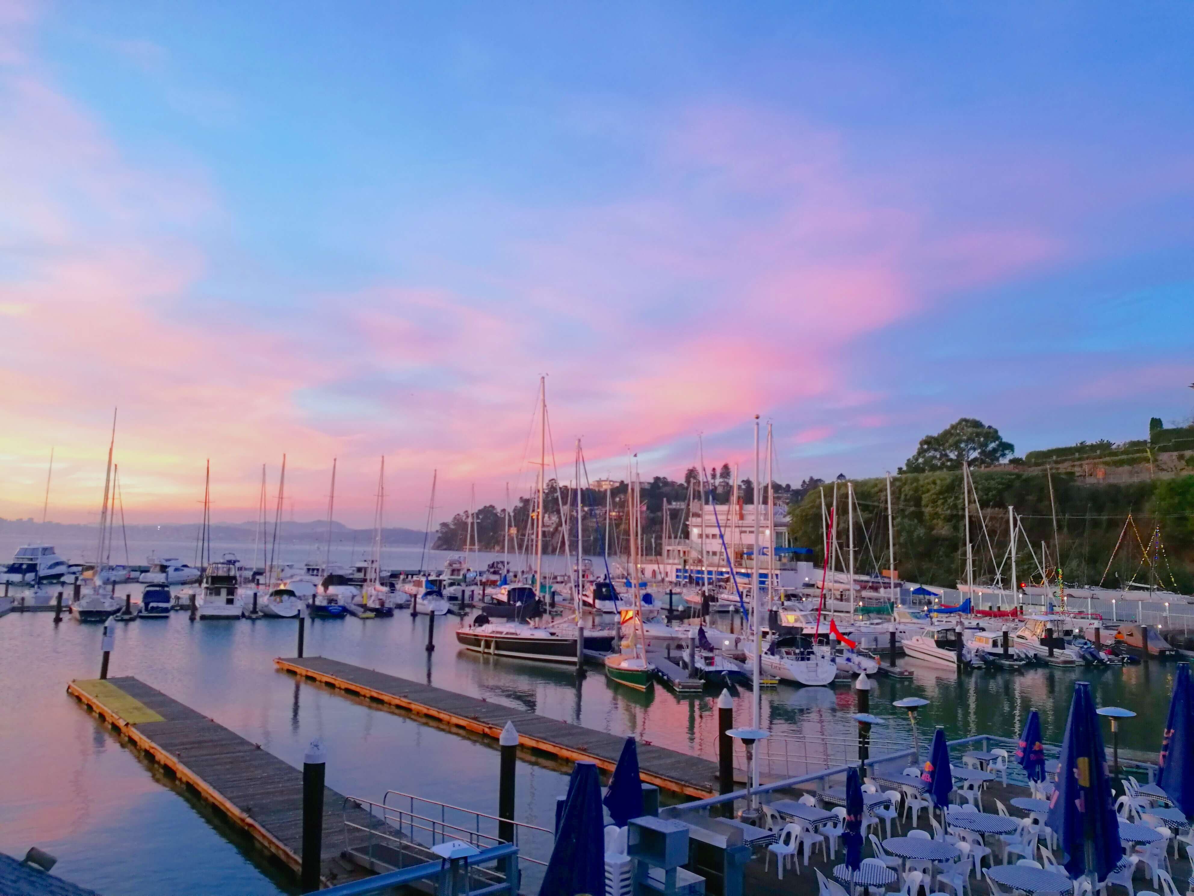Visiting San Francisco but want to get away from the hustle and bustle of the city? Why not stay across the bay at Waters Edge Hotel in Tiburon