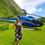 Taking an unforgettable helicopter tour around an active volcano on Hawai's Big Island with Blue Hawaiian Helicopters