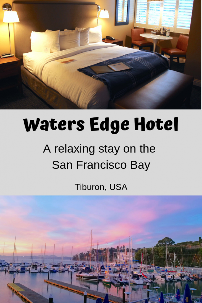 Visiting San Francisco but want to get away from the hustle and bustle of the city? Why not stay across the bay at Waters Edge Hotel in Tiburon, CA - USA