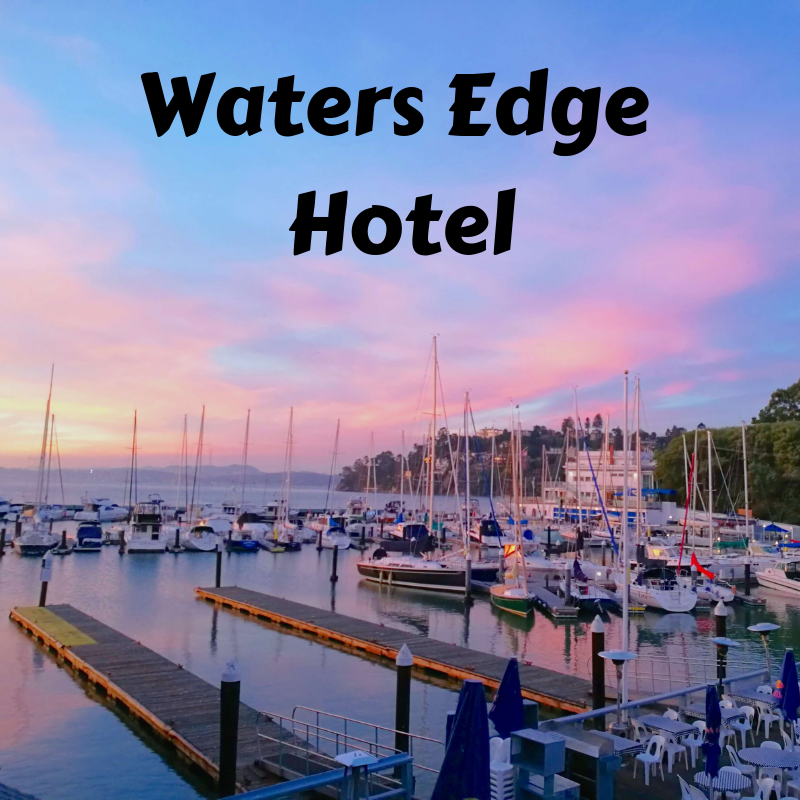 Waters Edge Hotel: Relaxation in the San Francisco Bay