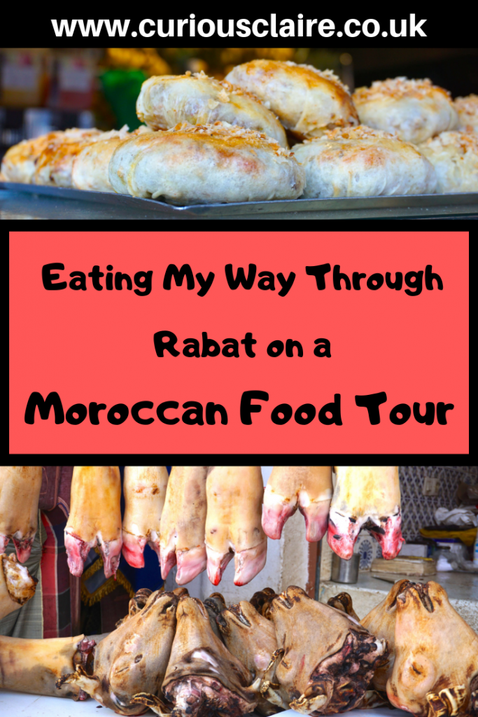 The best way to explore a new place is through food. With Moroccan Food Tour I explored the city of Rabat and tasted lots of yummy Moroccan food