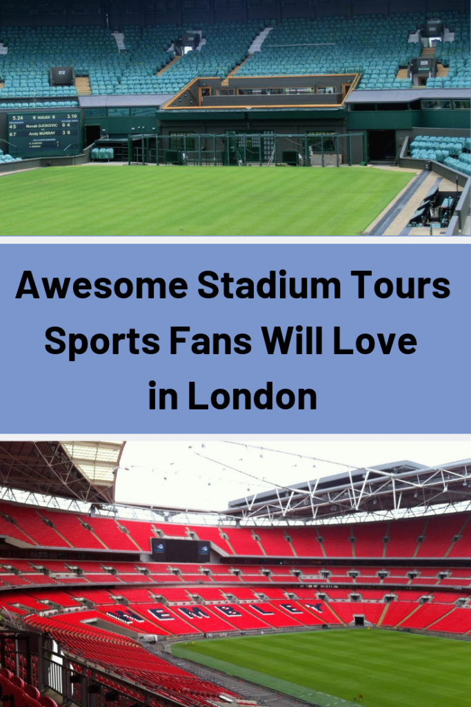 Looking to get your sports fix in London? Here are 7 amazing stadium tours in London fans of football, rugby, tennis and cricket will love