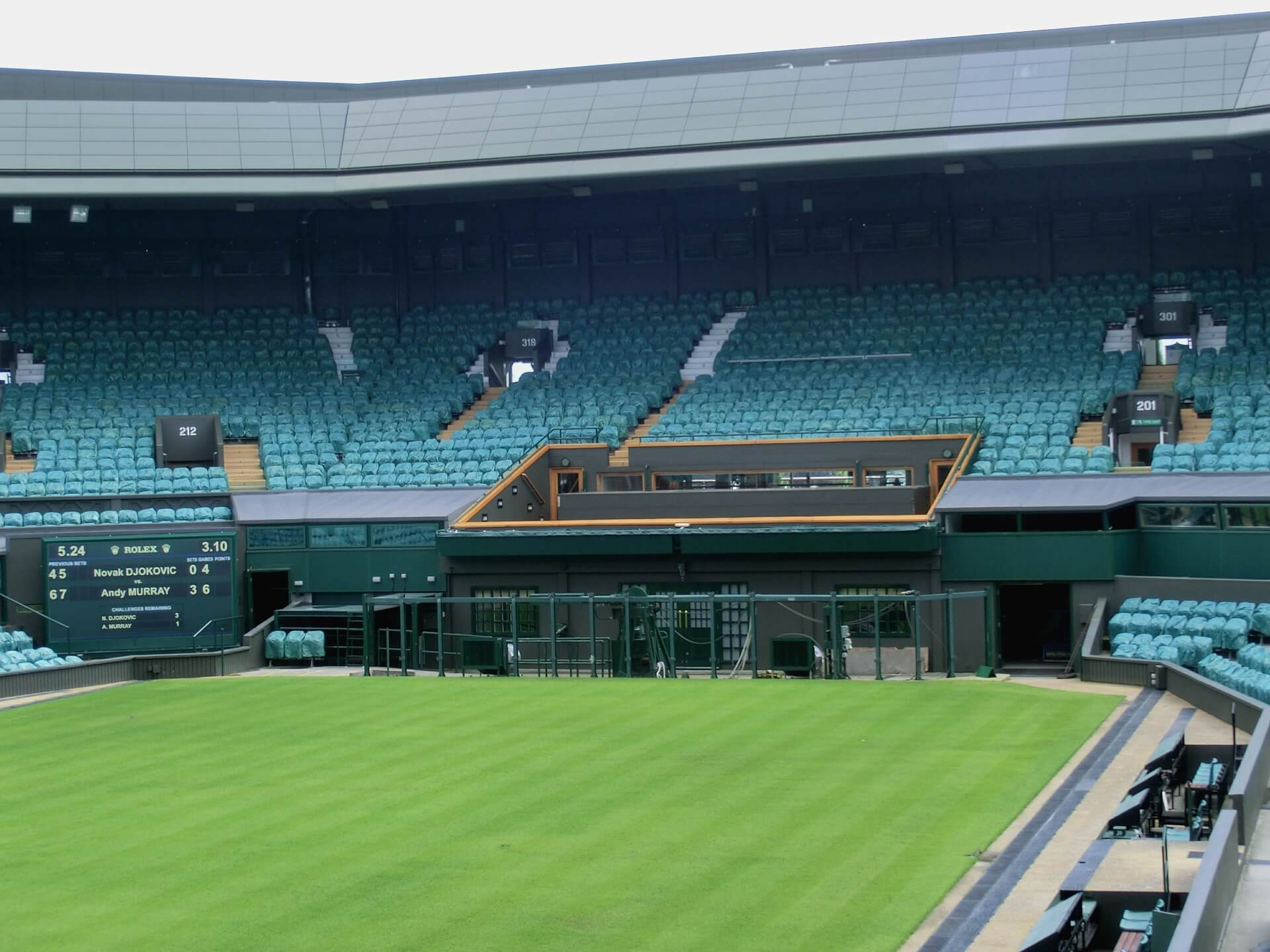 Wimbledon Stadium Tour - Stadium Tours in London