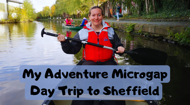 Looking for adventure and excitement around your job? Why not take a micrograp day trip to sheffield for some adventure on the water