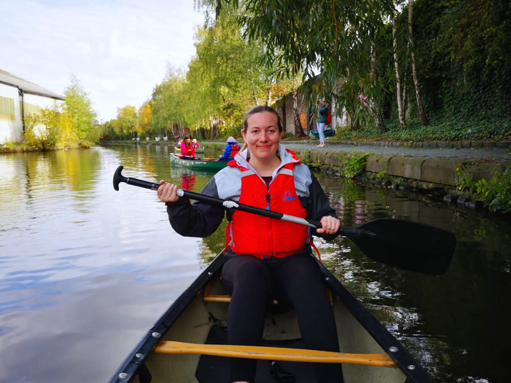 Sheffield Microgap - Canoeing down Sheffield canal