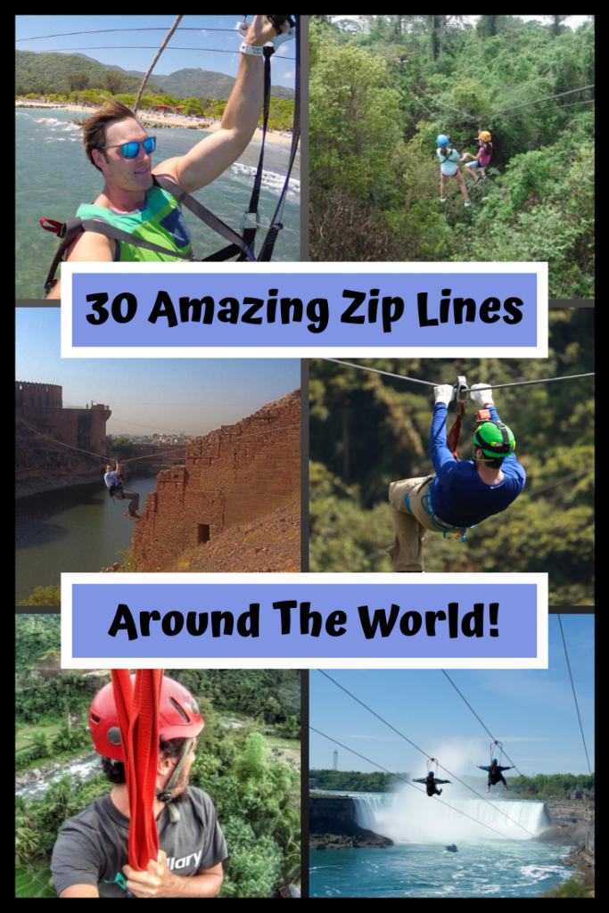 Do you love finding adventure? Here are 30 of the most amazing zip lines around the world. Which ones do you want to take on?