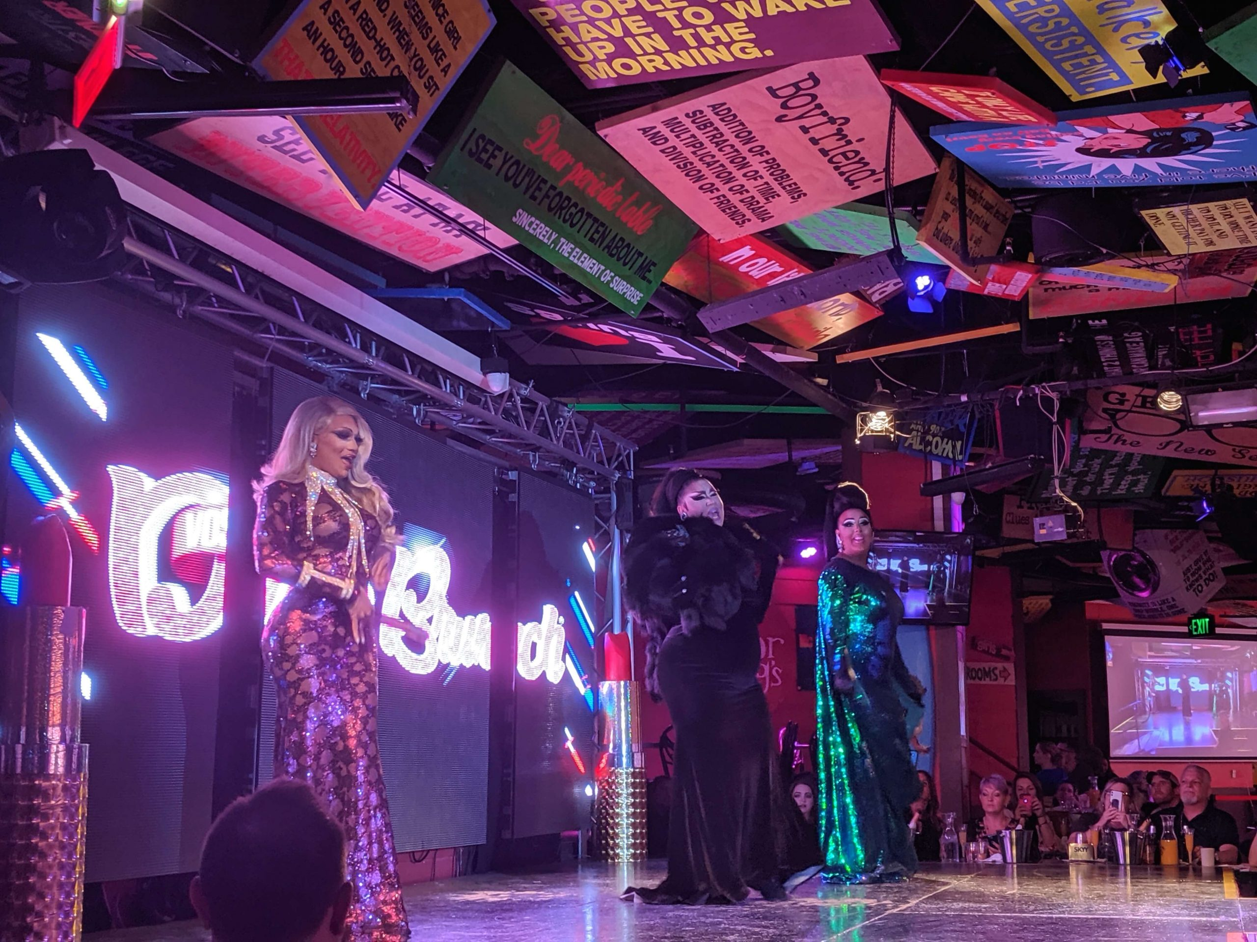 The former contestants of RuPaul's Drag Race reality show taking the stage for our Drag Queen Brunch