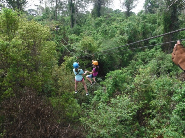 Angkor Zip Line in Siem Reap, Cambodia