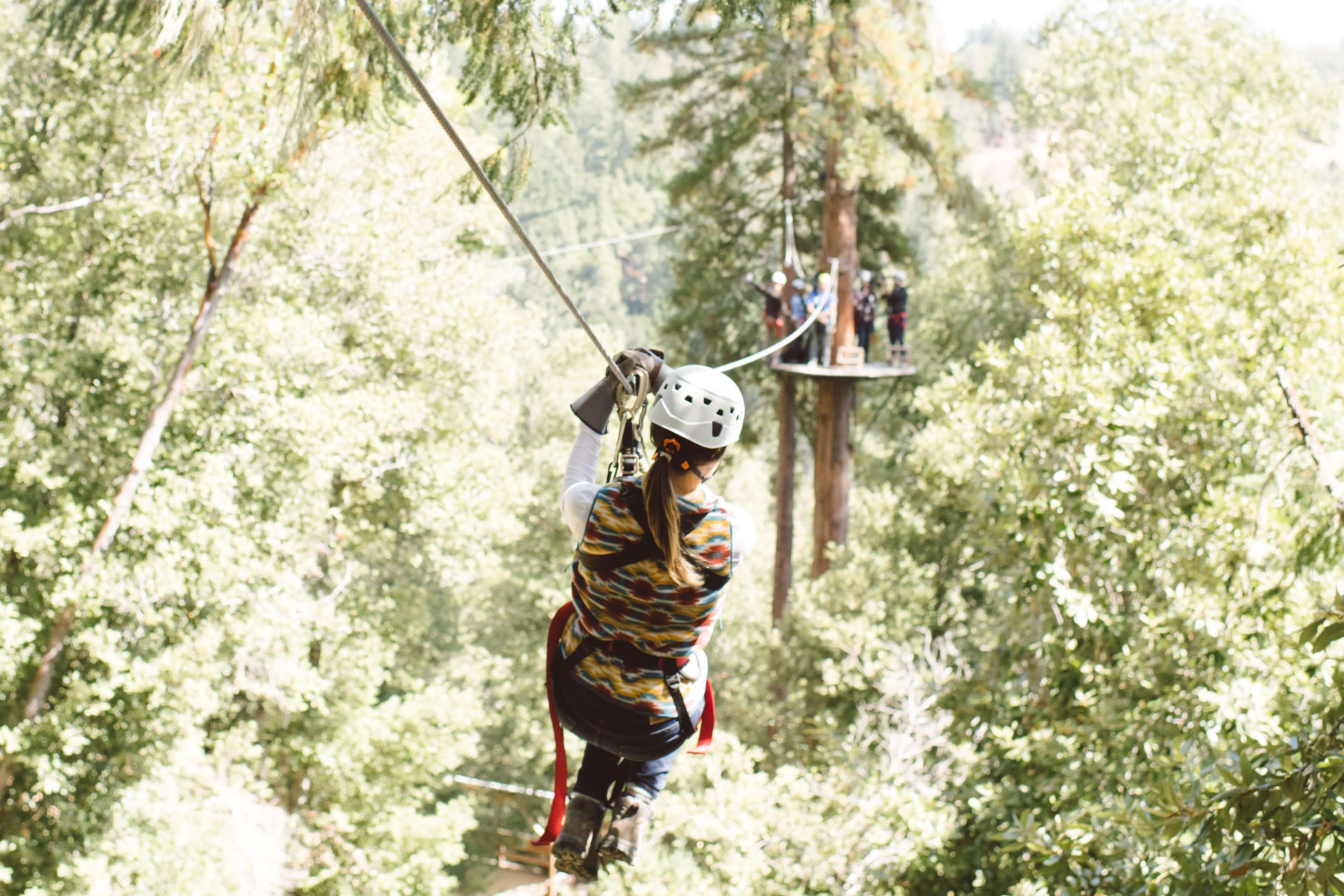 Sonoma Canopy Tour Zip Line in California