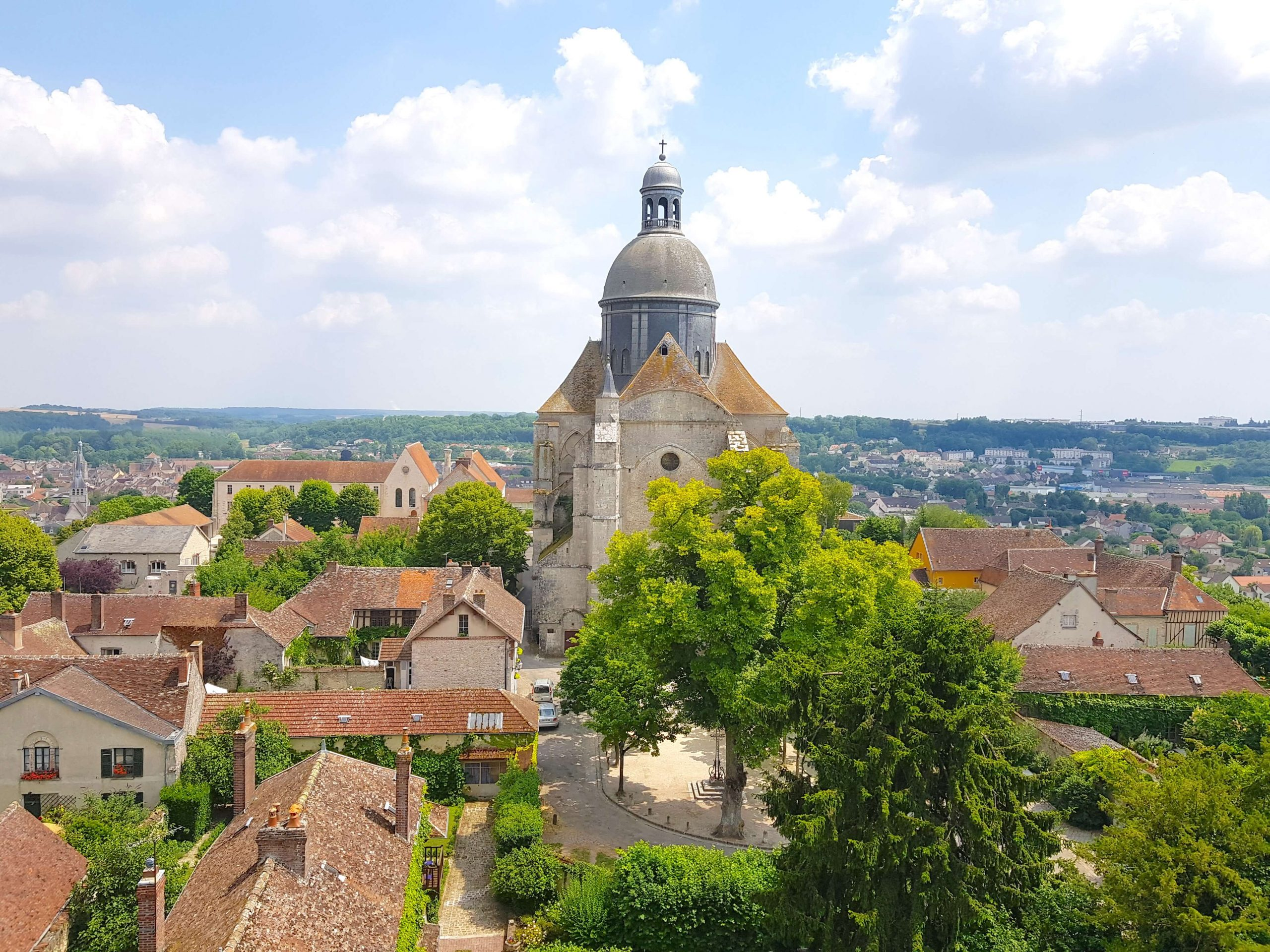 Saint-Quiriace Collegiate Church - a great church to explore when taking a day trip to Provins