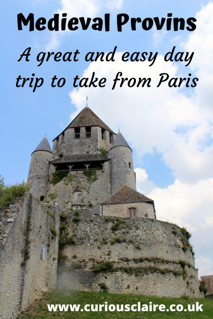 A Guide to why the Medieval City of Provins makes a great day trip from Paris, how to get there, plus what to do and see while you're there