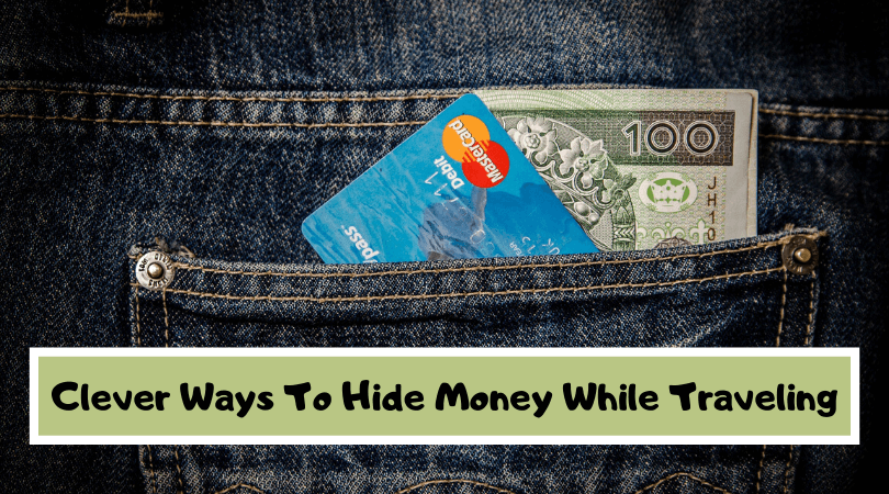 While travel is usually safe, it never hurts to prepare for the worse. Here are some tips and cool products to help hide money while traveling