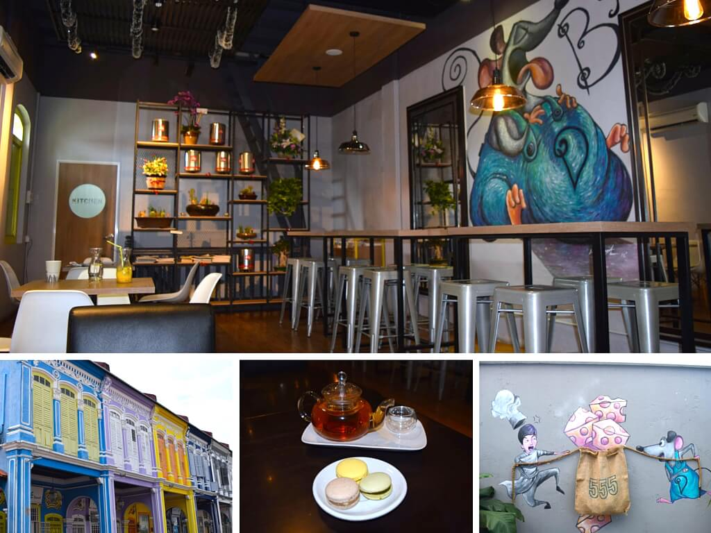 Dolce Desserts - one of the cool cafes in George Town, Penang