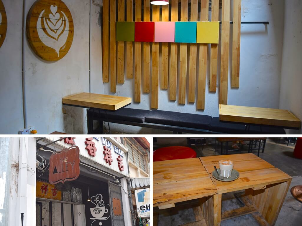 The Alley - one of the best cafes you can visit in George Town, Penang