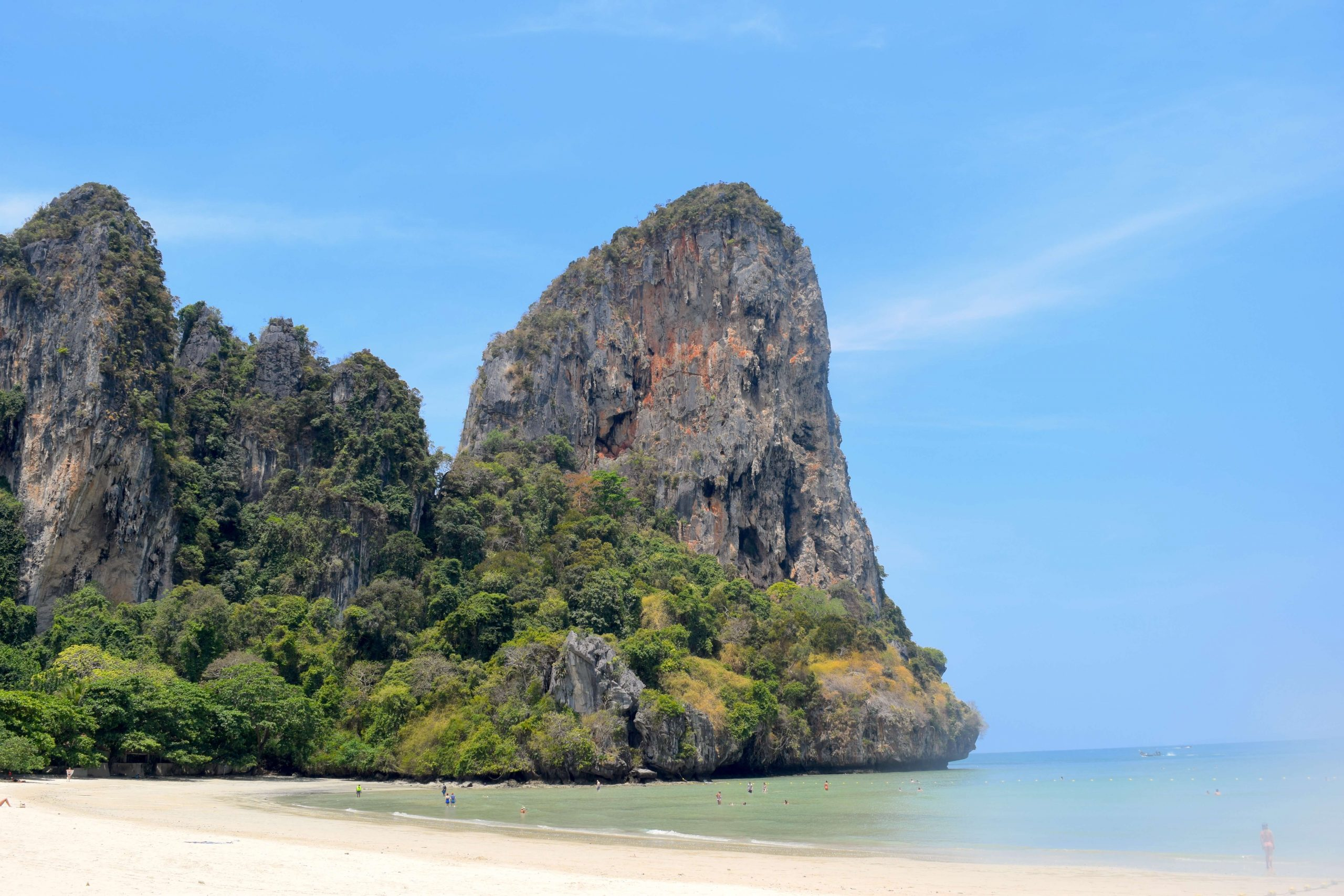 Railay Beach - a great day trip from Ao Nang, Krabi in Thailand