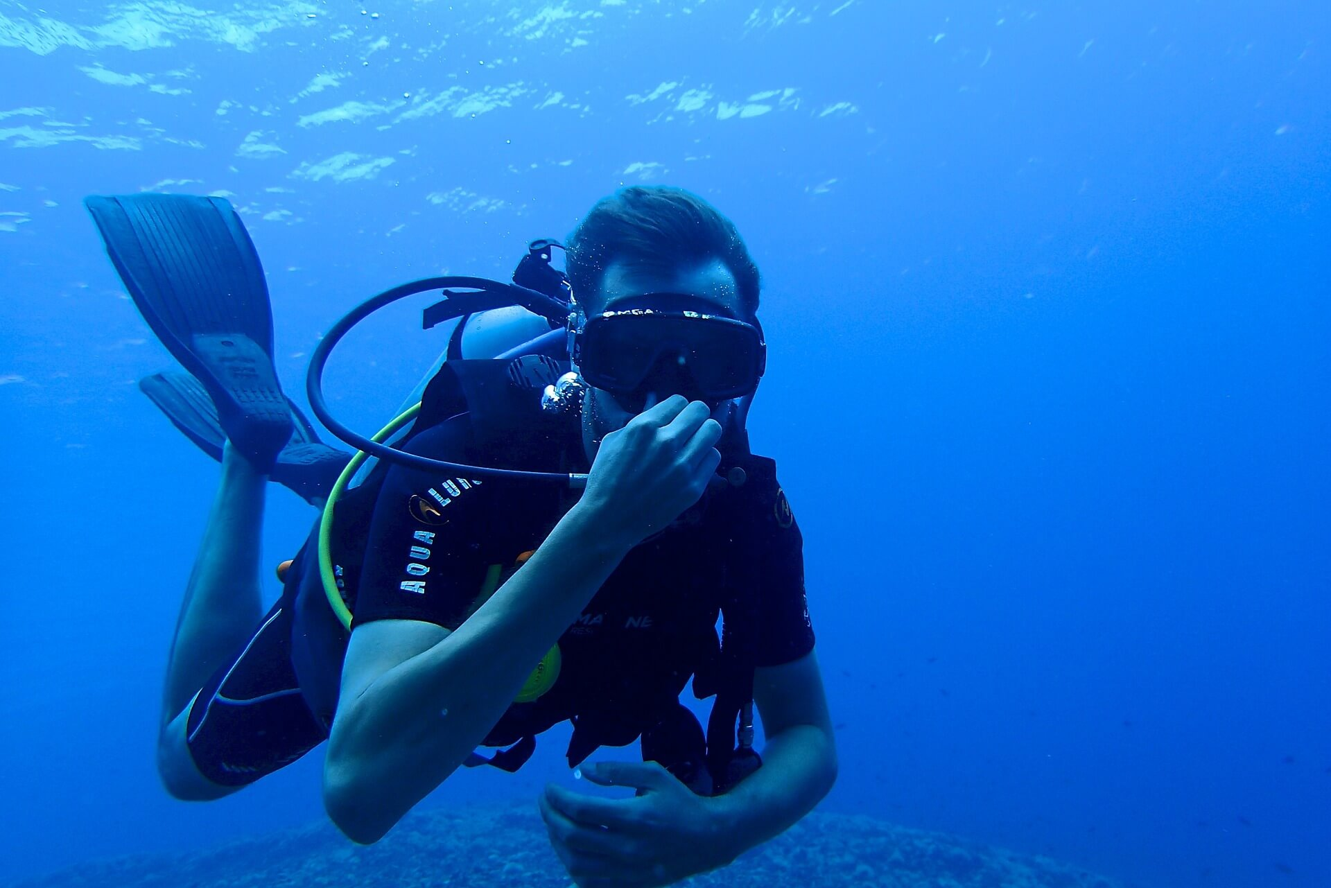 Scuba diving - a great thing to do in Ao Nang, Krabi in Thailad