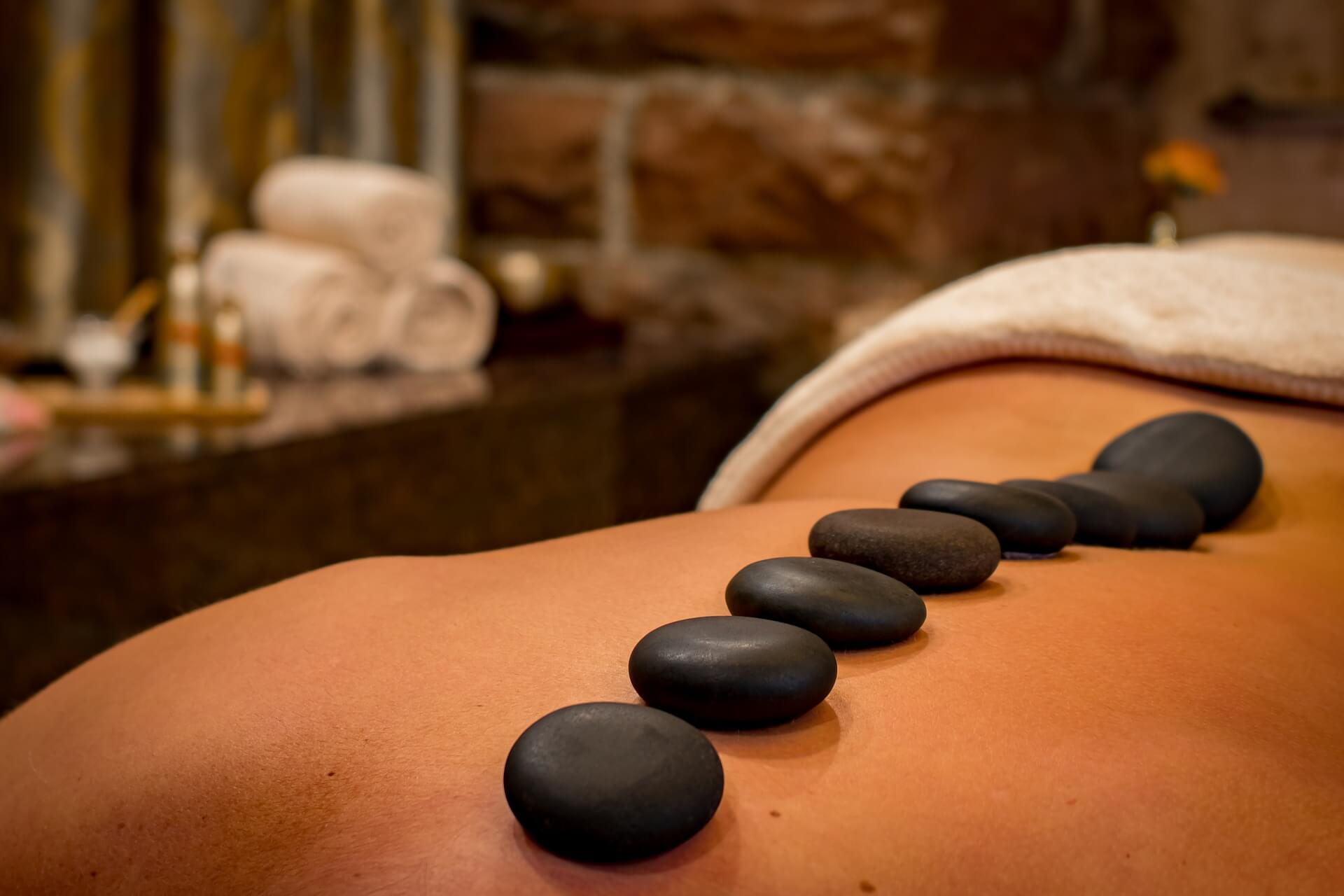 A hot stone massage from Boossabakorn Spa - a great thing to do in Ao Nang, Krabi