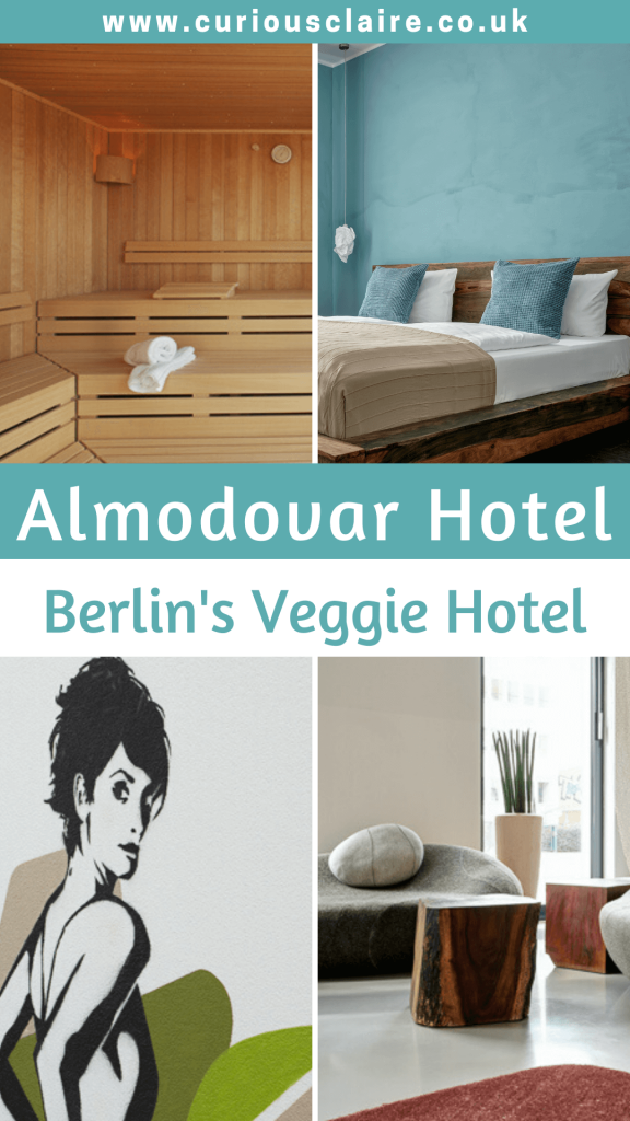 Any vegetarian or vegan visiting Berlin will love staying at modern and stylish Almodovar Hotel in the trendy Friedrichshain district #Berlin #Germany #Europe #VeggieHotel #Vegan #Vegetarian