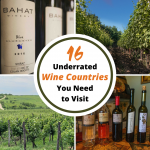 Looking to take a wine trip but want to skip the crowds? Why not visit one of these 16 underrated wine countries around the world