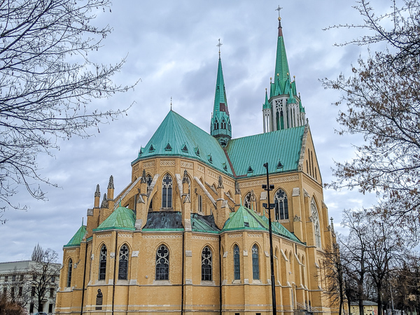 Arch-cathedral Basilica of St Stanislaus Kostka