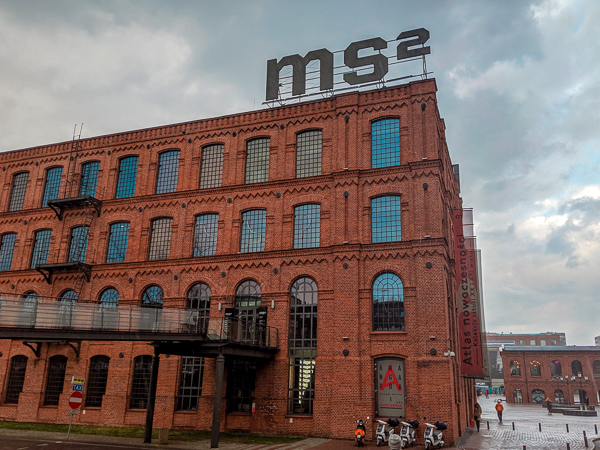 The Ms2 Arts Museum in Lodz
