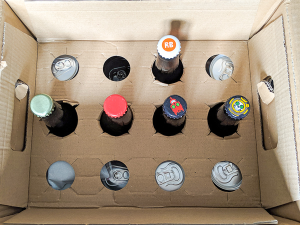 Beer delivery in the UK - a box of delicious beers from Craft Metropolis