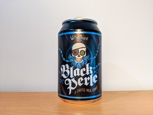 Black Perle Coffee Stout by Weird Beard Brewing Co.