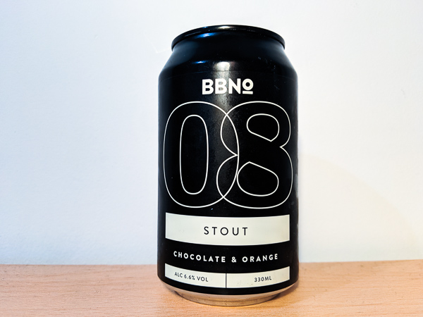 08| Chocolate and Orange Stout by Brew By Numbers