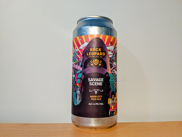 Savage Scene Pale Ale by Rock Leopard Brewing Co