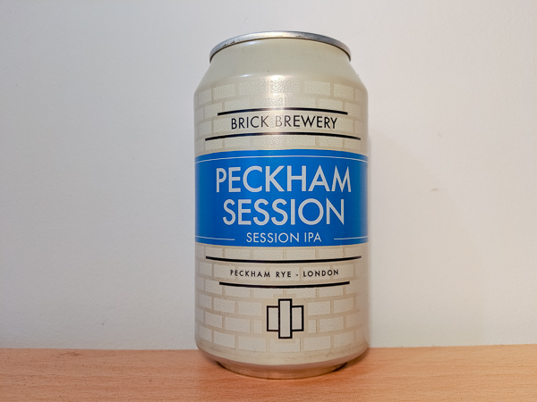 Peckham Session IPA by Brick Brewery