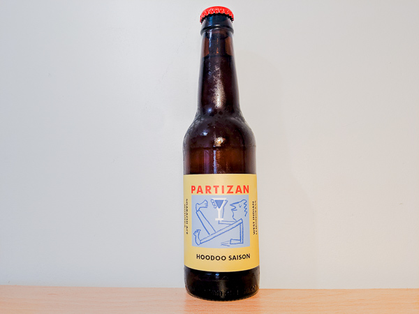 Hoodoo Saison session ale by Partizan Brewing