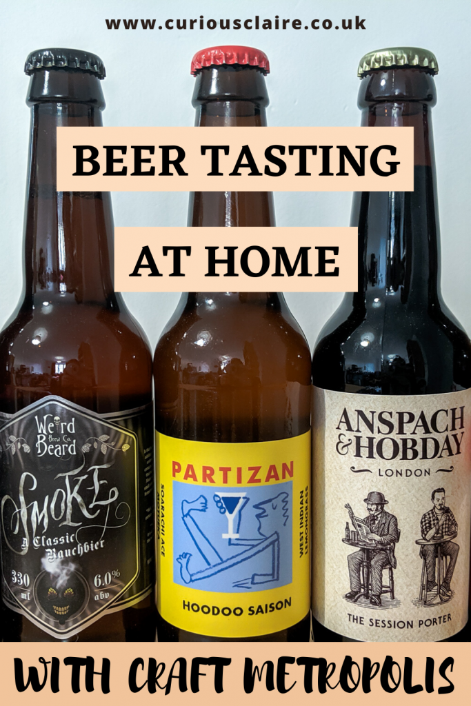 Don't let lockdown stop you from sampling some amazing craft beers. With Craft Metropolis you can do a beer tasting at home. Best part is you can pick the beers you want to try!