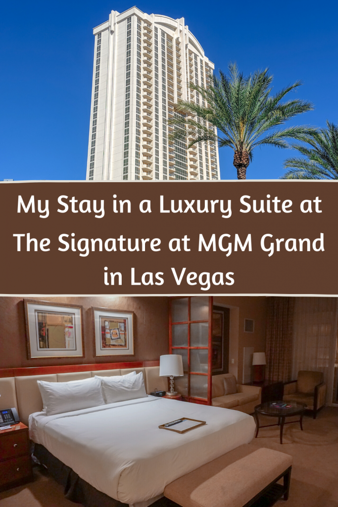 Wondering where to stay in Las Vegas? Check out my review of my 7 night stay at one of the luxurious suites at The Signature at MGM Grand situated right in the heart of Las Vegas #lasvegas #hotels #usa #usatravel #nevada #lasvegasvacation #luxurytravel #lasvegashotel The Signature at MGM Grand Review | Best Hotels in Vegas | Where to Stay in Vegas | Luxury Hotel in Vegas
