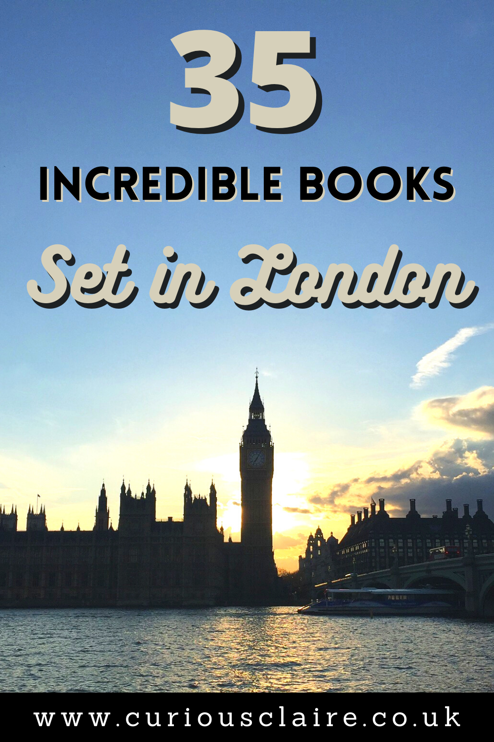 Looking to transport yourself to London from home? These incredible books set in London will have you feeling like you were there in the city | Best Books Set in London | Books to inspire a trip to London | Novels set in London | Romance novels set in London | Thrillers set in London | Books of Films | Books Set in England | Comedy Books set in London | Travel Books | Book Lovers | Best Selling Books #london #travelbooks #europetravel