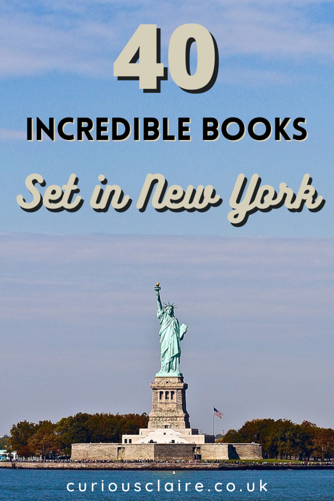 Looking to transport yourself to New York from home? These incredible books set in New York will have you feeling like you were there in the city | Best Books Set in New York | Books to inspire a trip to New York | Novels set in New York | Romance novels set in New York | Thrillers set in New York | Books of Films | Books Set in the USA| Comedy Books set in New York | Travel Books | Book Lovers | Best Selling Books